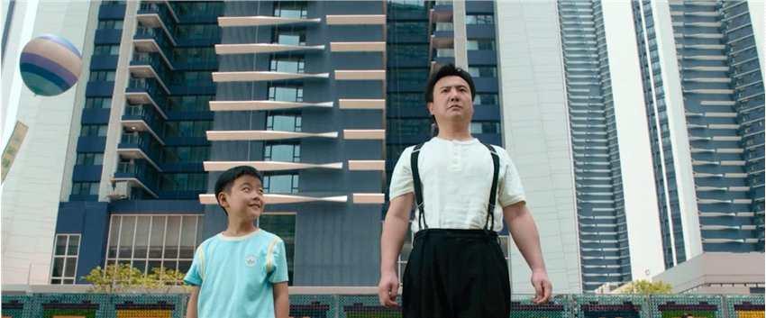 《【杏鑫账号注册】《我和我的父辈》之少年行曝预告 沈腾饰演2050年油腻机器人》
