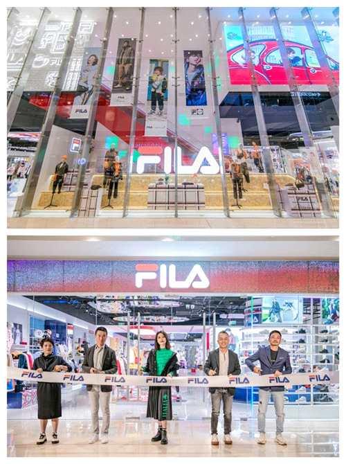 FILA斐乐全球第二家概念店入驻成都IFS