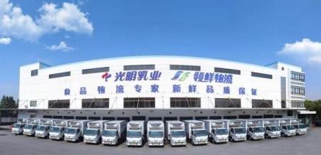 光明乳业补给物资送达上海支援武汉医疗队
