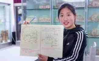 杭州解剖学大二学生手绘笔记图走红   栩栩如生