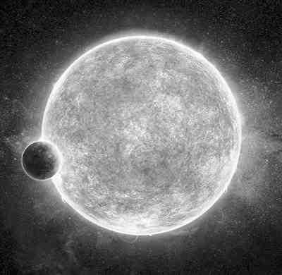 新超级地球现身:温度适中或有液态水