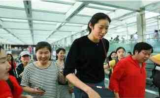 朱婷回国与河南队备战全运会预赛