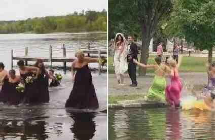 尴尬 婚礼伴娘出糗集锦