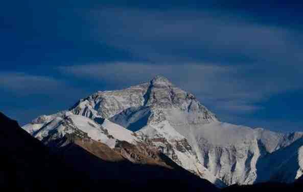 珠穆朗玛峰图片 世界第一高峰图片