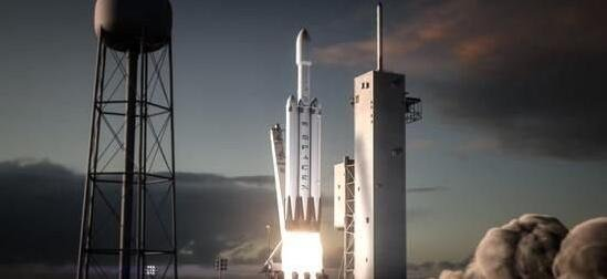 SpaceX准备发射重型火箭 用于登陆月球以及火星
