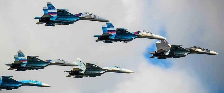俄空军一周内14次拦截俄边界附近的英美日法侦察机