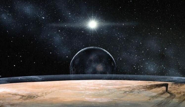 活跃的矮行星 闪烁亮斑或为活跃冰体