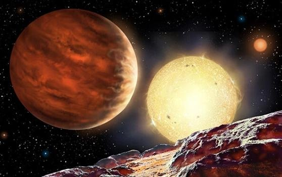 行星也另类 太阳系最热星球达2040度