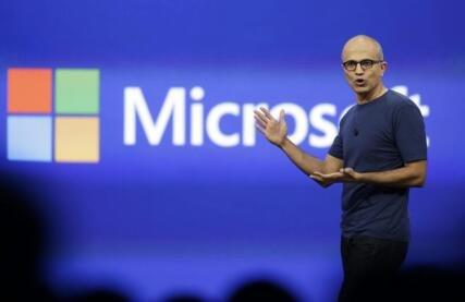 纳德拉押注云计算做对了?微软Q4营收盈利超预期