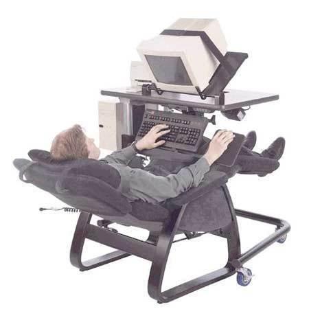 玩电脑最舒服的方式