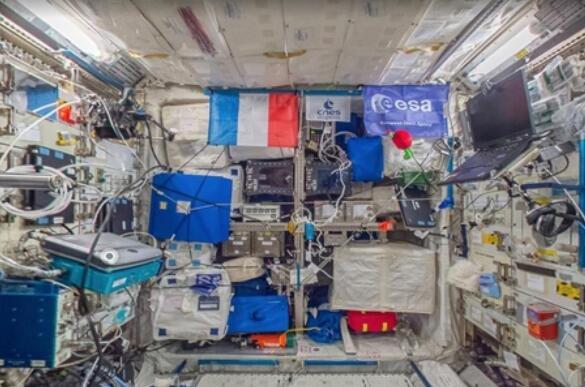 不用亲自上去,谷歌街景带你遨游国际空间站