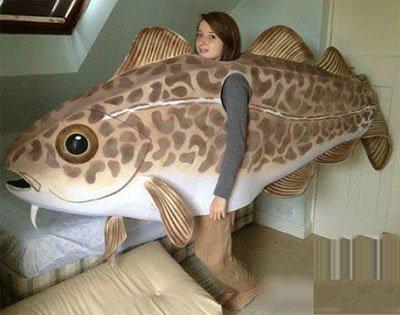 想变成一条大鱼的女孩