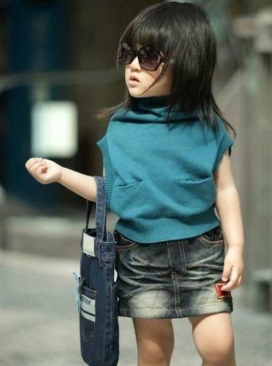 有范的时尚小女孩