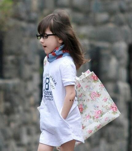 穿着有范的小女生