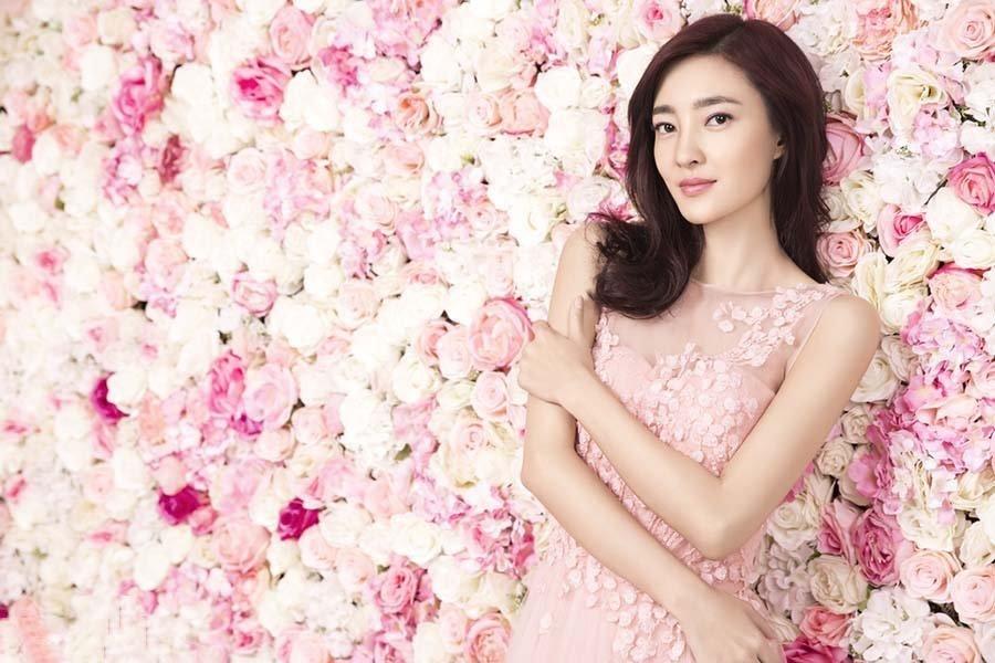 王丽坤清新长裙 美如天仙