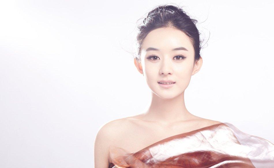 赵丽颖甜美优雅高清写真