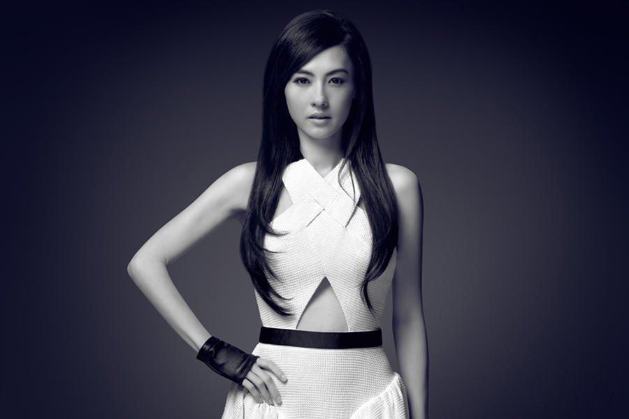 张柏芝时尚写真 气质优雅迷人