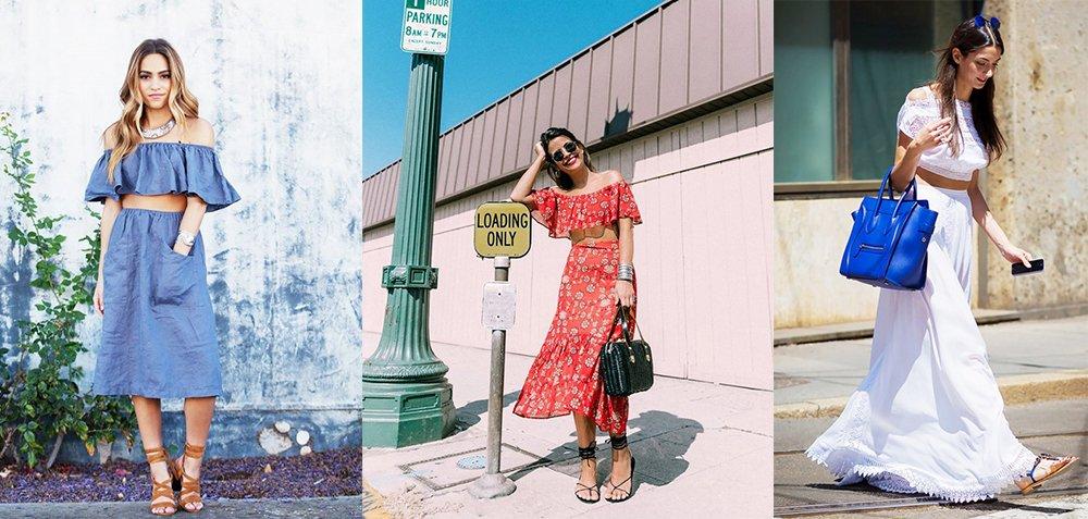 2件套裙装,换一种风格,换一个夏天