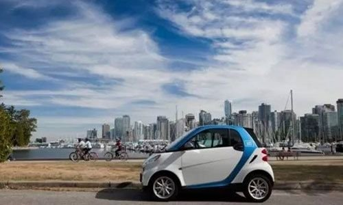 由温到火共享汽车市场急剧升温 诸多创业者关注共享汽车