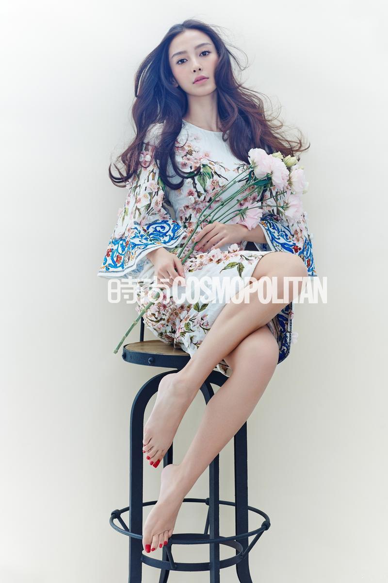 美女杨颖Angelababy 时尚杂志照