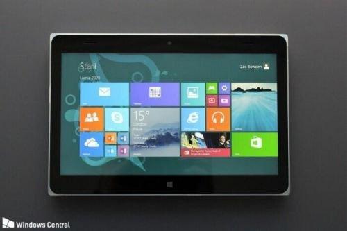 可惜没能上市 微软旗下的lumia2020平板曝光