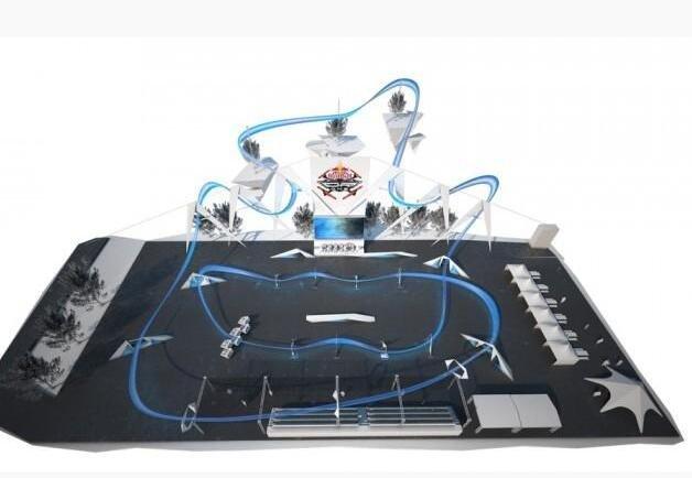 全球首个无人机锦标赛举办 最高时速达150公里