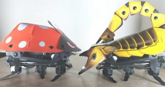 新款折纸机器人亮相 让孩子学会STEM和编程技巧