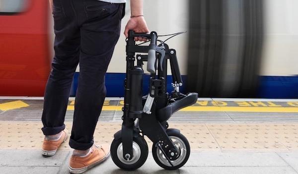 号称全球最轻最小电动自行车