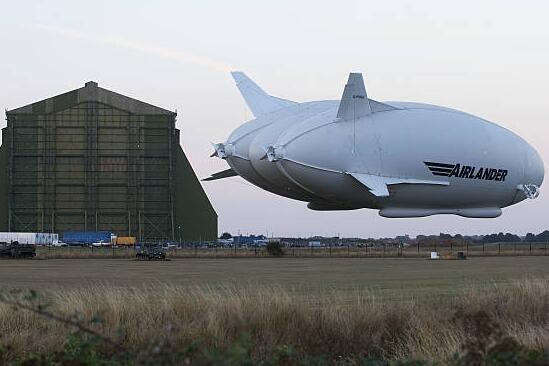 """世界最大飞行器或将被打造成一艘""""空中游轮"""""""