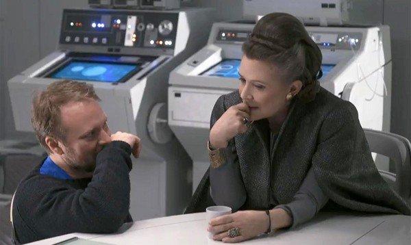 """《星战8》首映致敬莱娅公主!外媒赞""""史上最棒"""""""