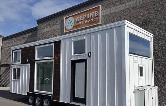全新太阳能微型房子可容纳五口之家 售价8万美元