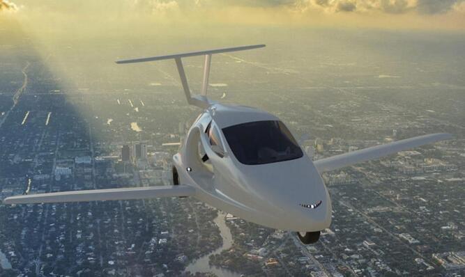 美公司设计飞行跑车 18年春季上市起价12万美元