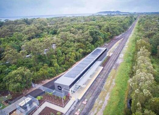 澳大利亚推出全球第一辆太阳能列车 可容纳百人