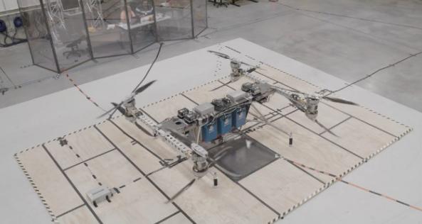 波音展示送货无人机,已完成首次飞行测试