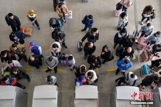 """中国""""黑科技""""支持中国春运人口大迁徙29.8亿人次"""