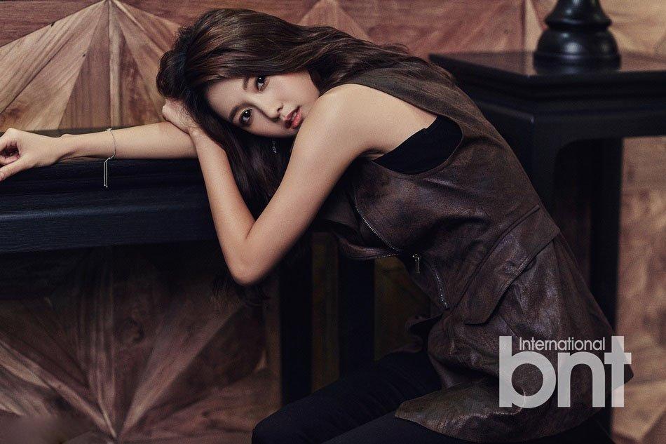 韩国明星南宝拉绝色惊艳写真图片