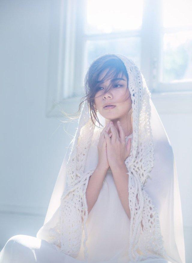 歌手朱婧仙女造型拍摄写真