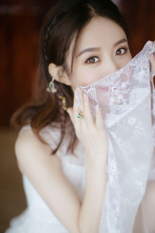 赵丽颖长裙唯美写真