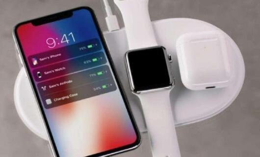 苹果多设备无线充电枕AirPower已经开始备货