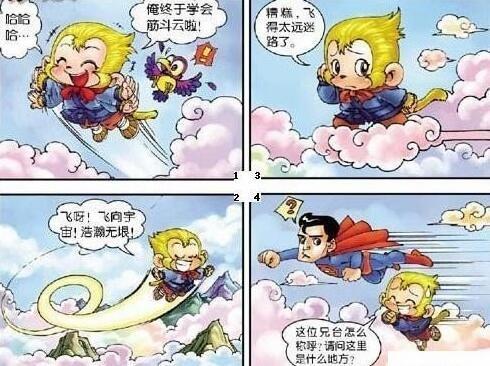 当孙悟空和超人和同框你觉得谁最厉害