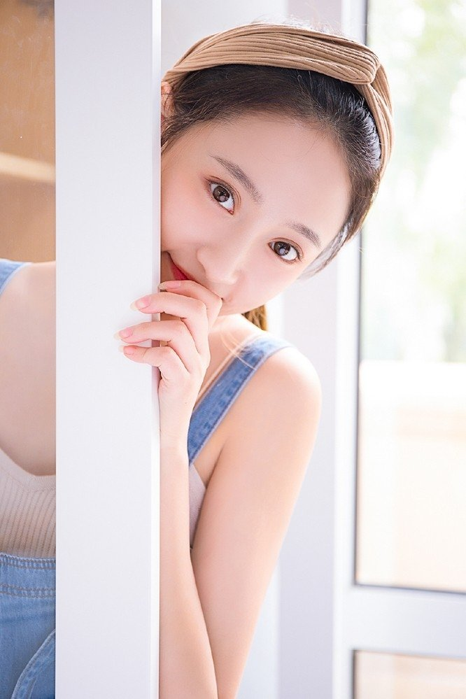 日系小清新美女甜美私房写真