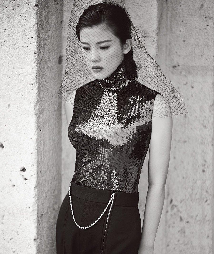 杨子姗时装杂志性感时尚写真