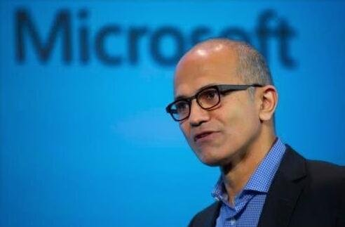 微软CEO纳德拉抛售近27万股股票 套现2840万美元