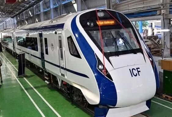 """印度铁路部长发视频炫耀国产""""高铁"""",被网友发现2倍速播放"""