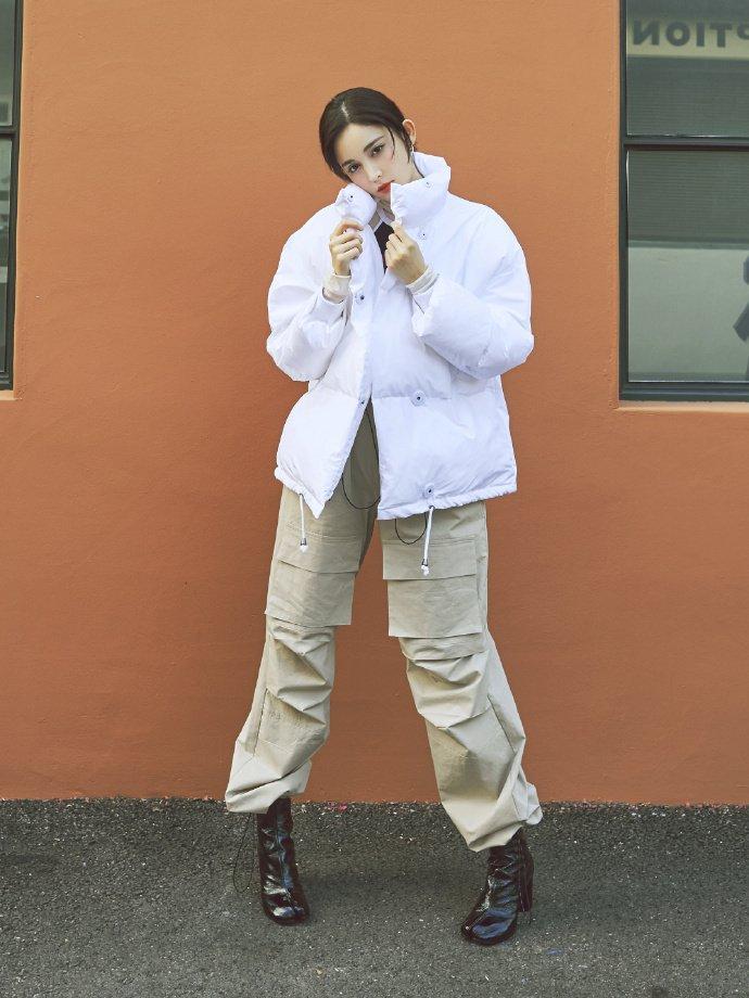 古力娜扎温暖冬装写真图片