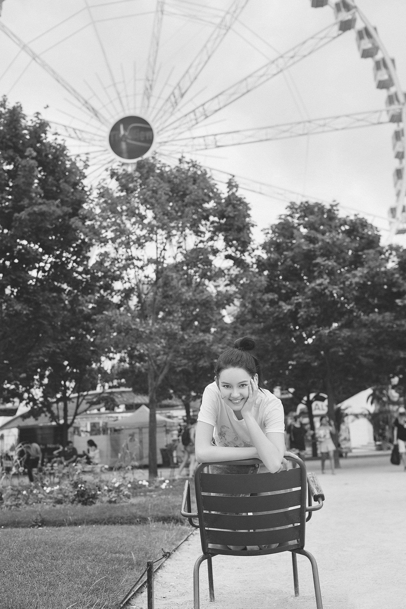 李诗颖清新甜美写真图片
