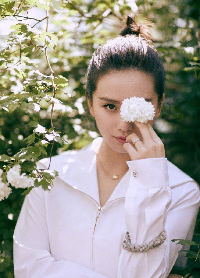 刘诗诗唯美意境时尚大片写真图片