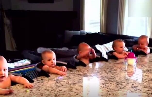 家里有五胞胎是一种什么体验