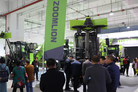 中联重科携甘蔗生产全程机械化解决方案亮相2018中国甘蔗机械化博览会