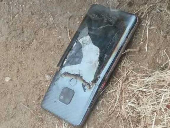 Mate 20电池意外起火致用户大腿被烫伤:华为官方暂未回应